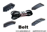 timing belt, cogged v belt, ribbed belt - timing belt