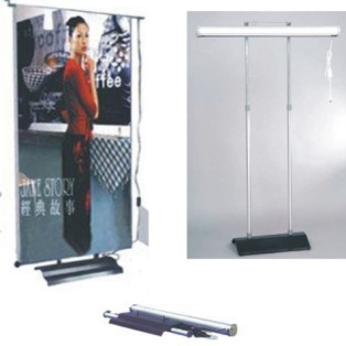electric roll up banner stand,two side banner - PP-B004