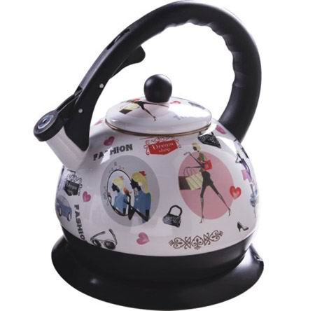 DW18-10 Enamel Electric Kettle - DW18-10