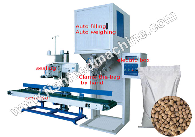 AMS-DCS100 Fish Feed Packaging Machine - AMS-DCS100