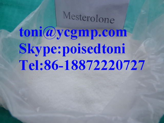 mesterolone low sperm count
