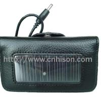Large picture solar leather case