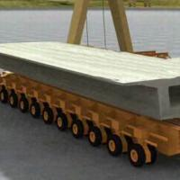 Large picture Manufacture Girder Transporter