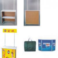 Large picture promotional counter,folding products display