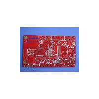 Large picture China 8 layers PCB with red mask
