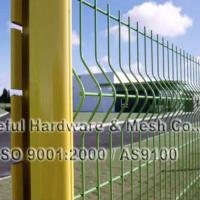 Large picture curved fence