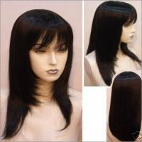 Large picture human hair wig and lace wig
