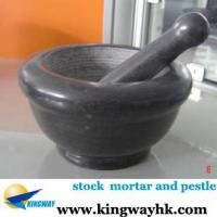 Large picture stock stocklot closeout mortar and pestle