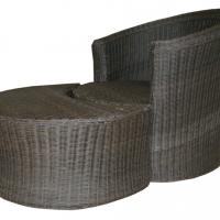 Large picture Wicker chaise lounge