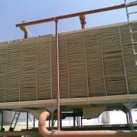 Large picture cross flow cooling tower