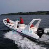 Large picture RIB boat6.6m,rigid inflatable boat---lianya boat