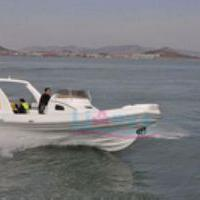 Large picture RIB boat8.3m,rigid inflatable boat---lianya boat