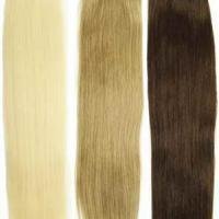 Large picture pure human hair exrtension