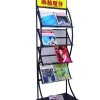 Large picture display literature rack