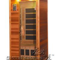 Large picture home sauna