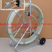 Large picture fiberglass conduit rod reel