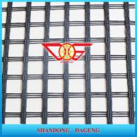 High Tensile Strength Fiberglass Geogrid