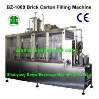Large picture Semi Automatic Liquid Gable-Top Filling Machinery