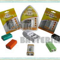 Large picture 9V NiMH Rechargeable battery