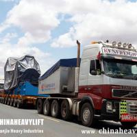 Large picture CHINAHEAVYLIFT modular trailers in Kenya Africa
