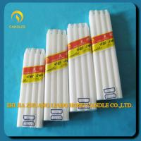 paraffin wax white household candles for lighting