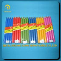 color stick candles for home decoration
