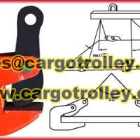 Large picture Horizontal steel lifting clamps