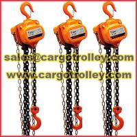 Large picture Chain block applied on rigging equipment
