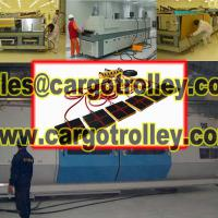 Large picture Air bearing movers moving heavy loads easily