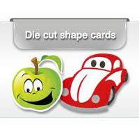 Die Cut plastic Cards